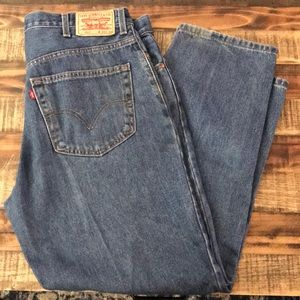 Levi's men's 550 relaxed fit 38x30
